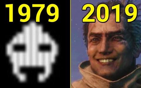 Evolución de los juegos de 1979 a 2019