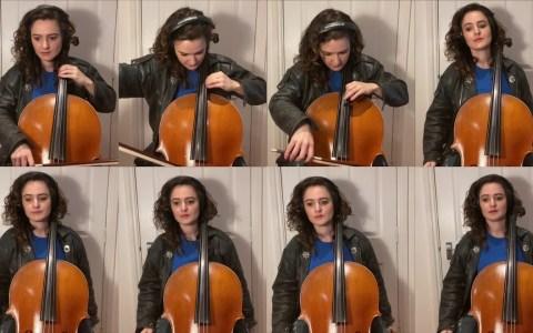 Intro del Coche Fantástico interpretada con 8 violonchelos