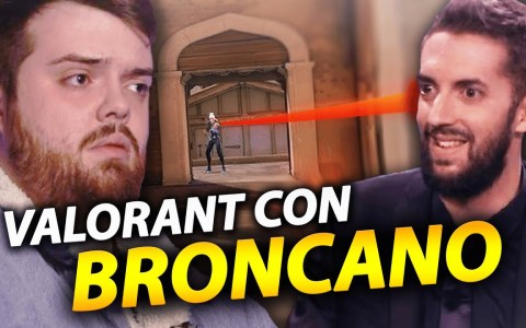 Jugando al Valorant con Broncano