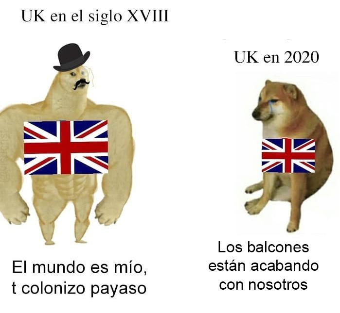 UK, quién te ha visto y quién te ve...