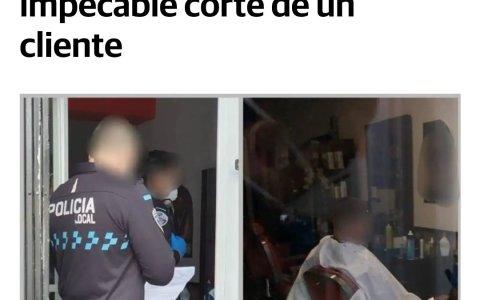 CSI Toledo: su corte de pelo perfecto le delató
