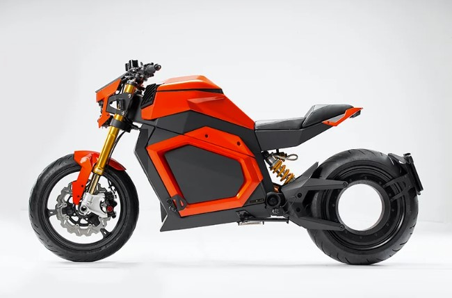 Verge: La moto eléctrica sin cadena, sin transmisión, con 300km de autonomía y con un par motor de superdeportivo