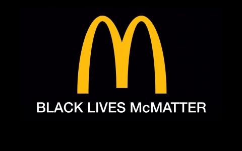 Así sería un anuncio honesto de McDonalds sobre el Black Lives McMatter