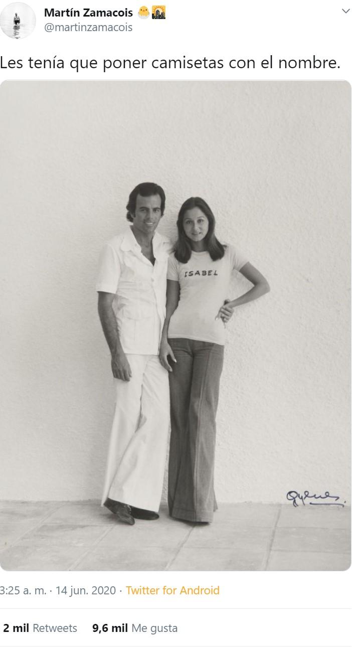 Julio Iglesias practicaba el I+D+I del folleteo
