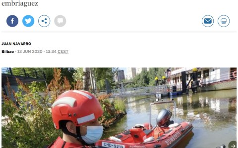 Pues ya sabemos qué era lo que flotaba en el río Pisuerga...
