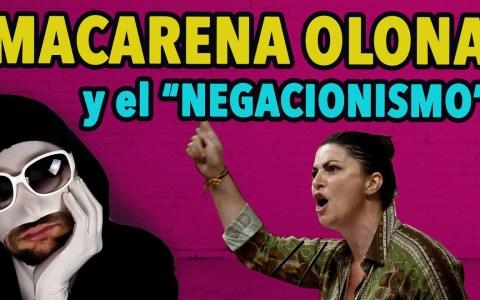Macarena Olona y los negacionistas de la VG
