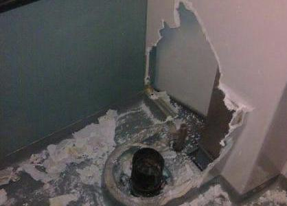 Cuando se te cae el móvil al váter y te empeñas en recuperarlo...
