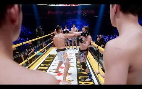Fighting like Spartans: el combate ruso por turnos en un ring alargado