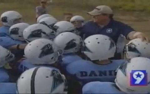 Recordemos a Dylan, el niño ciego que quería jugar a fútbol americano