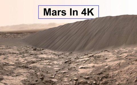 Vídeo real de la superficie de Marte