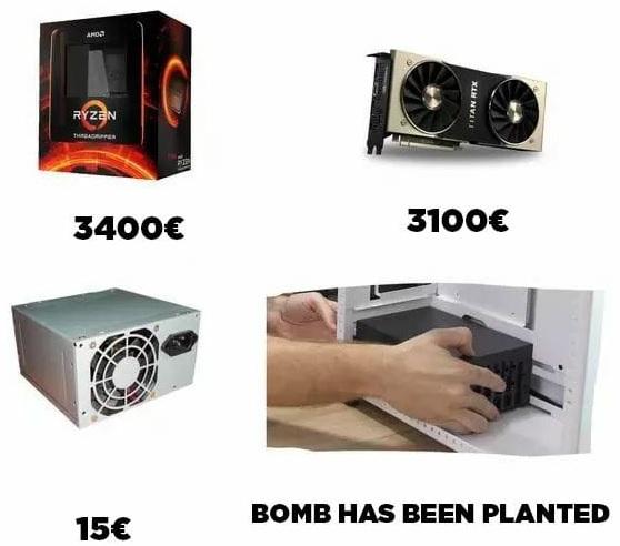 Nadie le presta atención a la parte más importante del ordenador, y luego... pasa lo que pasa