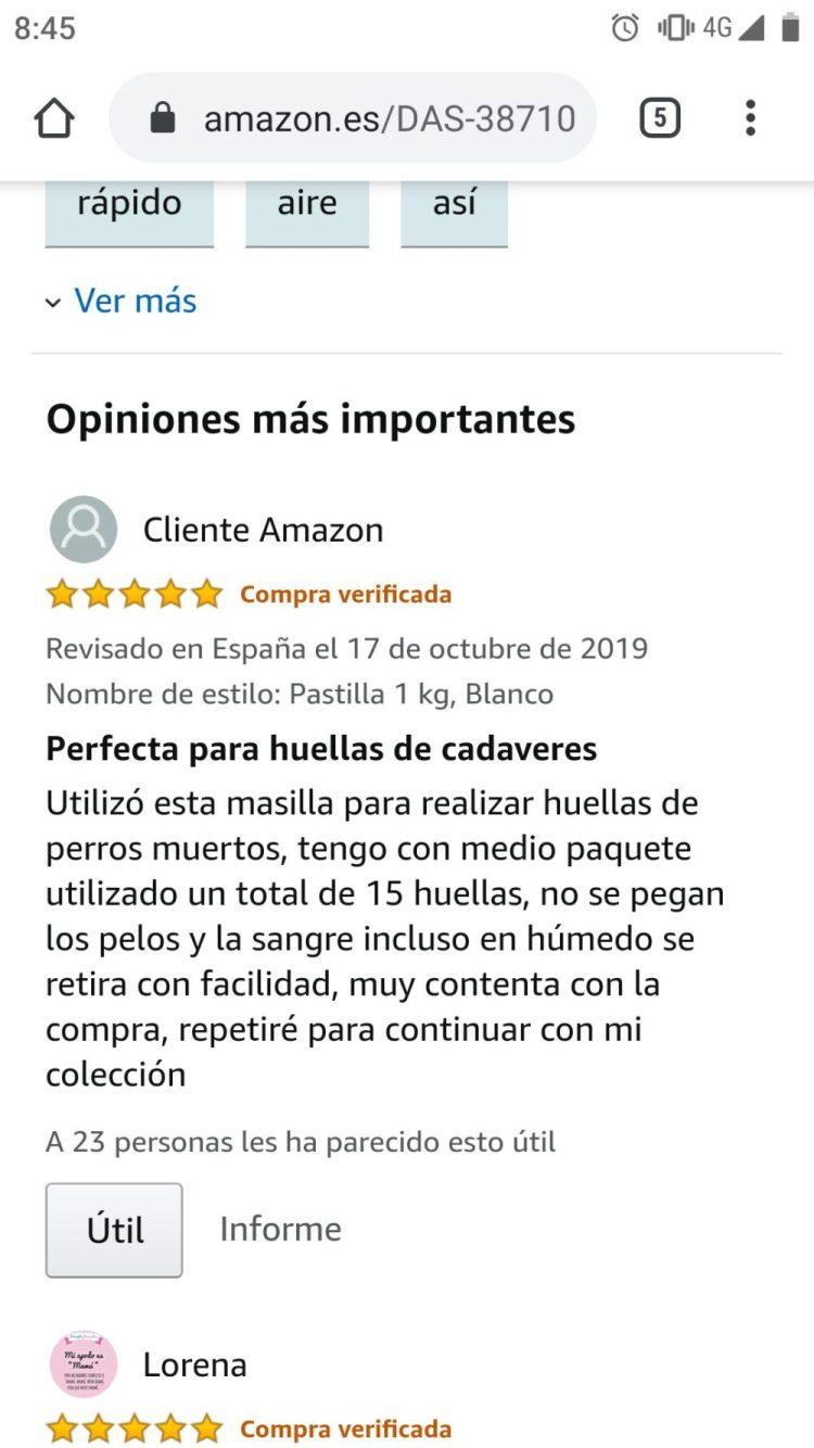 """Opiniones de Amazon que ya no puedes """"desver"""""""
