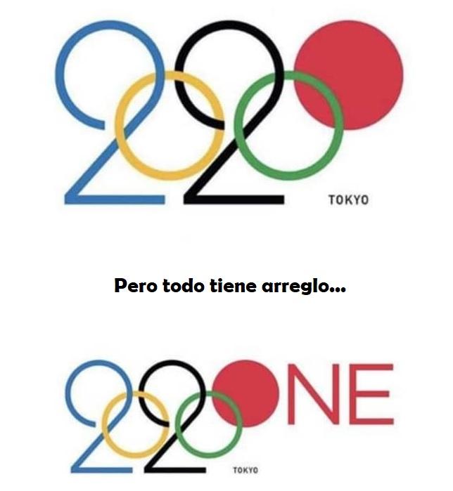 Imagina haber creado el mejor logo de la historia de los juegos olímpicos, y que los acaben posponiendo...