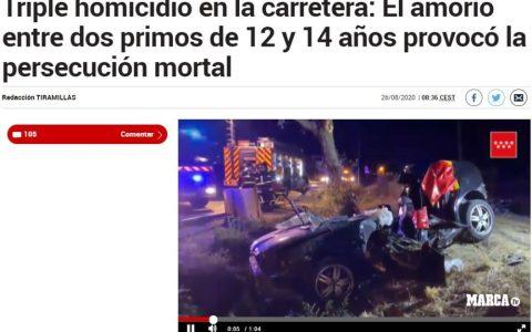 Más información sobre el misterioso accidente de ayer