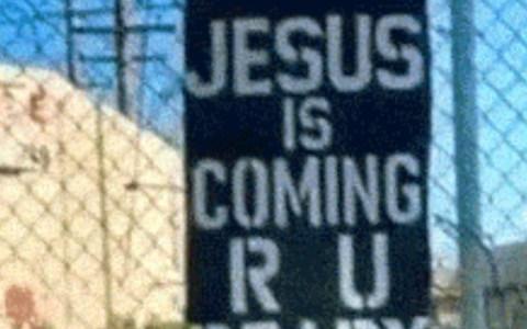 """Jesús ya viene, ¿Estás preparado?"""