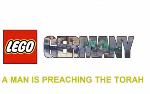 Pinta bien el nuevo LEGO versión alemana