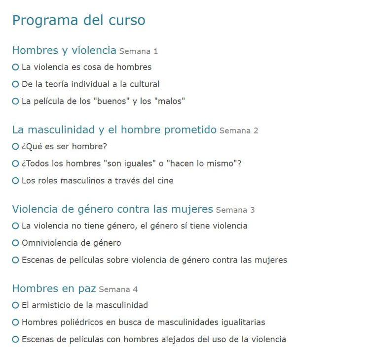 Convalida créditos con estos fantásticos cursos sobre... ¡EL HOMBRE ES EL MAL!