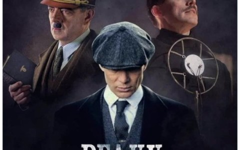 ¿Rowan Atkinson interpretando a Hitler en Peaky Blinders?
