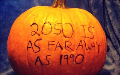 La calabaza más terrorífica que vas a ver este Halloween