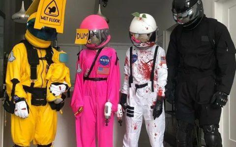 Obvious disfraz de Halloween is obvious...