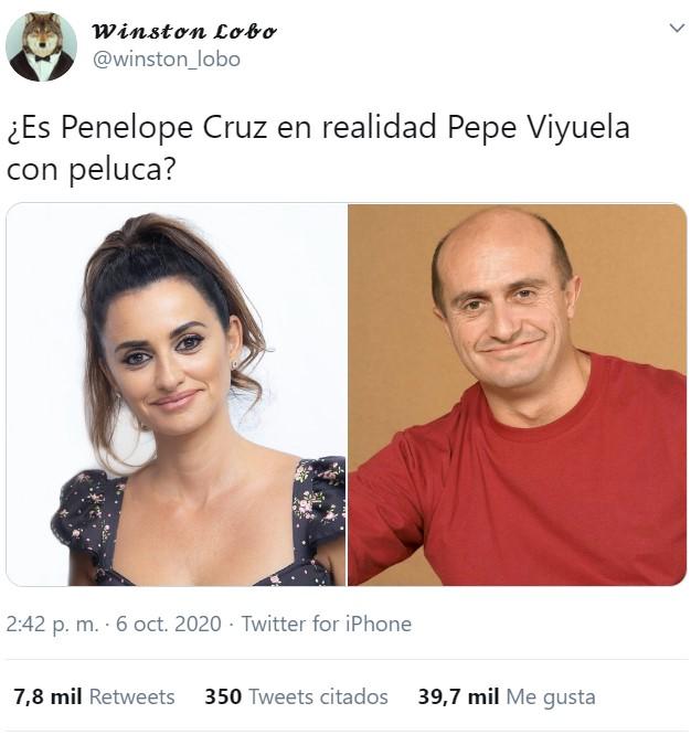 ¿Se les ha visto juntos alguna vez a Penélope Cruz y Pepe Viyuela?
