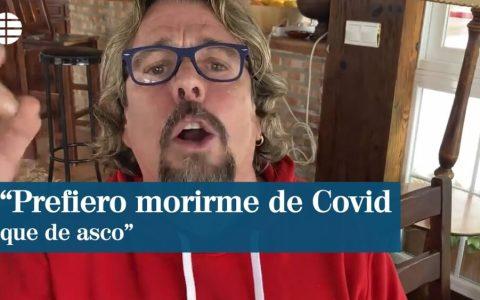 """Miguel Bosé se ha reencarnado en """"Raya"""" de Cruz y Raya."""