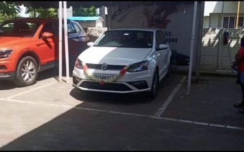 Primeros metros en su coche nuevo