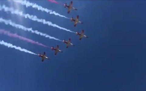 Se ha filtrado el vídeo de la exhibición del ejército con el audio original