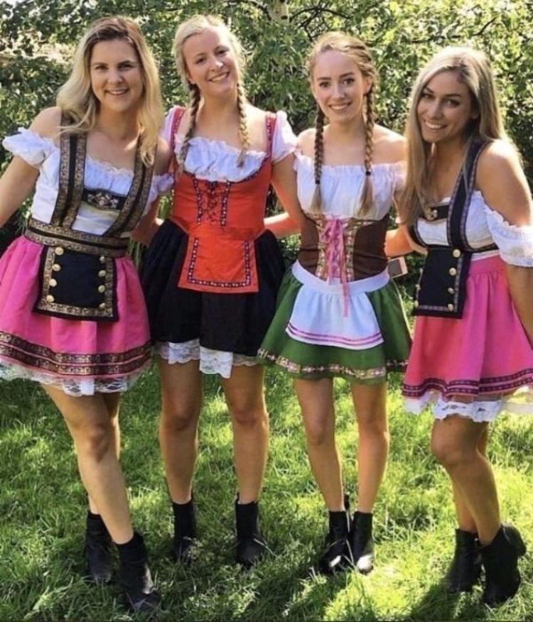 Chicas en el oktoberfest: la galería importante del día