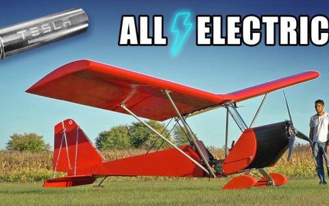 Un ingeniero crea su propia avioneta eléctrica: el Tesla de los cielos