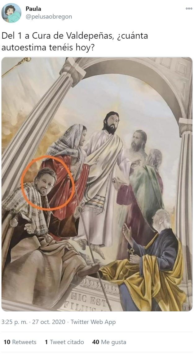 ¿Su amigo Yisus no le ha dicho que la Soberbia es un pecado?