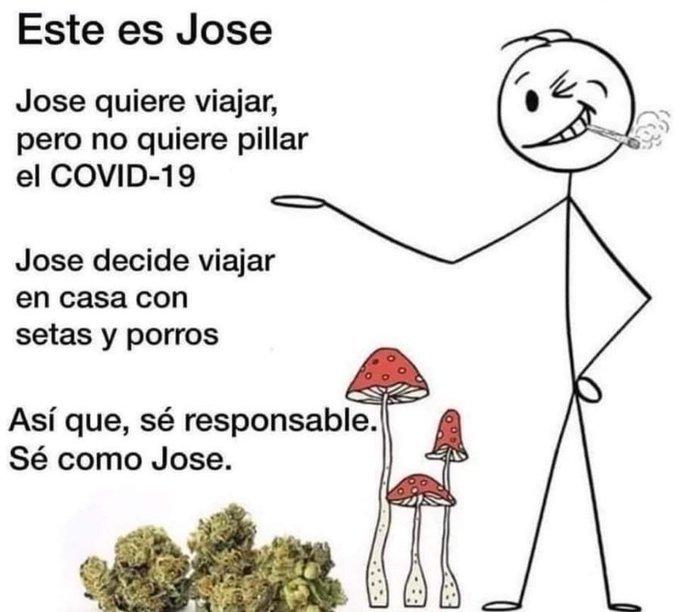 Sé responsable, sé como Jose