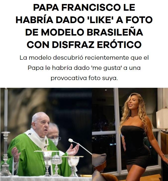 El Papa Francisco me cae cada vez mejor