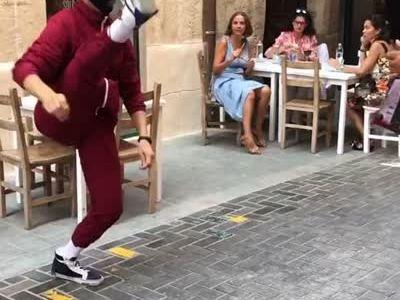 Bailando ruso en Alicante