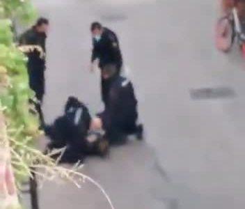 Ayer en Zaragoza: un hombre herido después de enfrentarse armado a una patrulla de la Policía Nacional