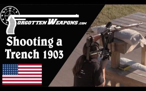 Cameron Yaggi de 1093, un rifle de trinchera diseñado para no arriesgar tus sesos en combate