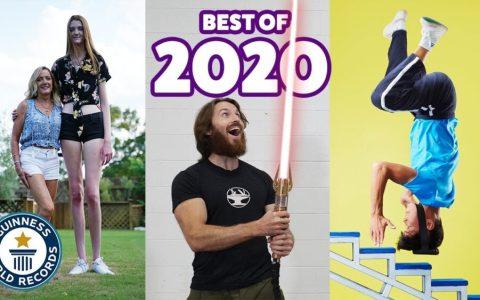 Los mejores Record Guinness de 2020