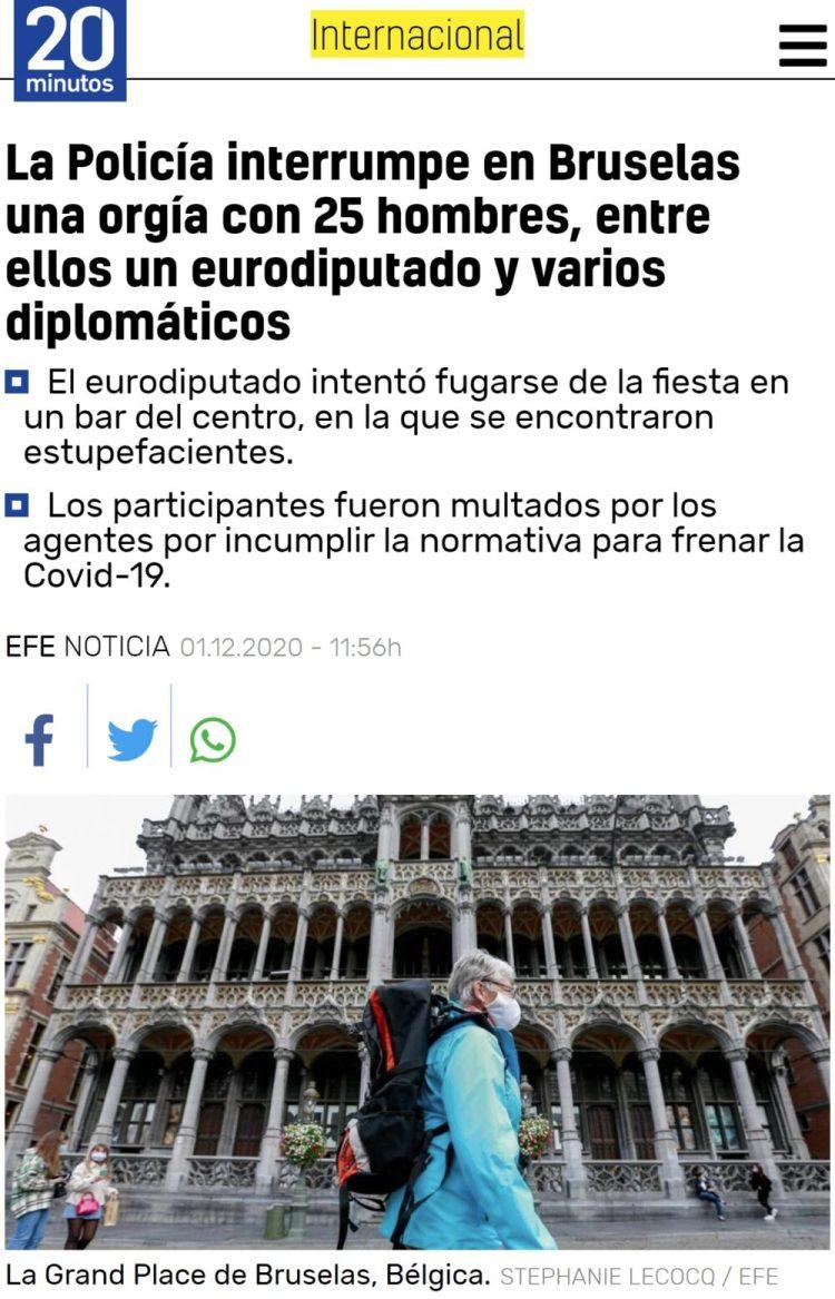 El after de los eurodiputados