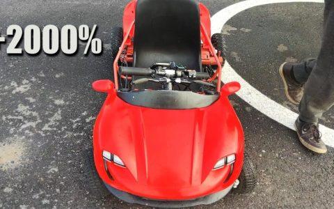 Vicesat sigue tuneando su coche eléctrico demigrante