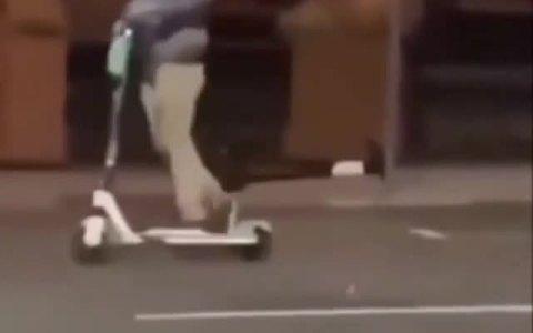 Si bebes no conduzcas... patinetes