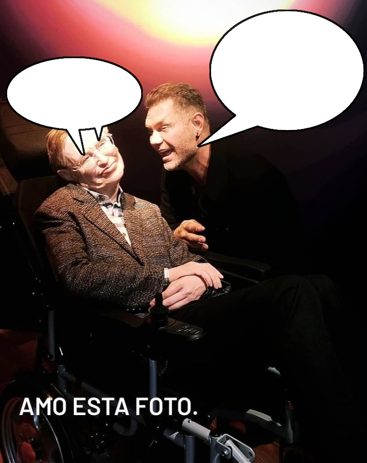 ¿Qué le está diciendo Nacho a Estifen en esa foto?