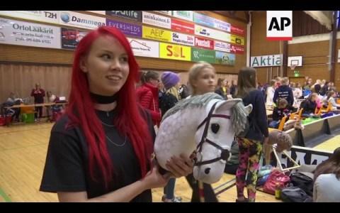 Este post es solo para recordaros que este deporte existe: El Hobby Horse