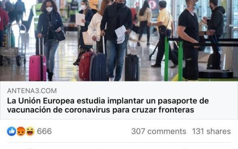Se vienen los pasaportes de vacunación