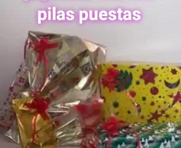 Quitadle las pilas a los regalos antes de envolverlos...
