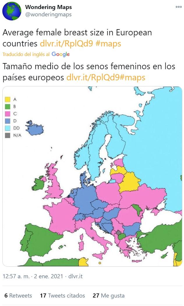 Este mapa me es indiferente porque yo soy 100% cular