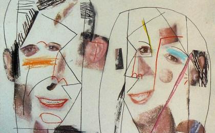 Ana e Andrés /  Mixta sobre papel /  49×68 cm /  2014