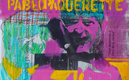 Pablo e Paquerette / Mixta sobre papel / 25×35 cm / 2005