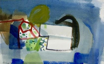 Peirao/    Acuarela sobre papel/    30×43 cm/    2014
