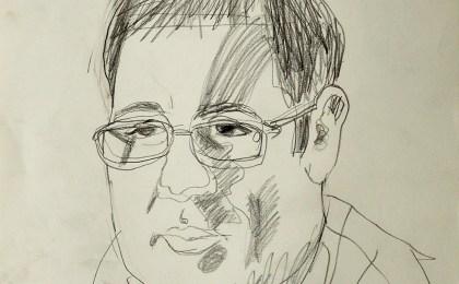 Carlos / Lapis sobre papel / 42×29 cm / 2006
