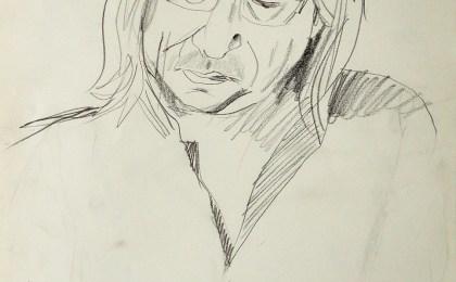 Román / Lapis sobre papel / 42×29 cm / 2006